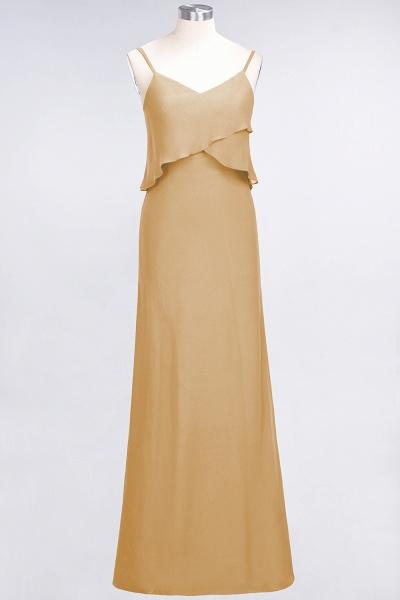 A-Line Chiffon Spaghetti-Straps V-Neck Sleeveless Floor-Length Bridesmaid Dress_13