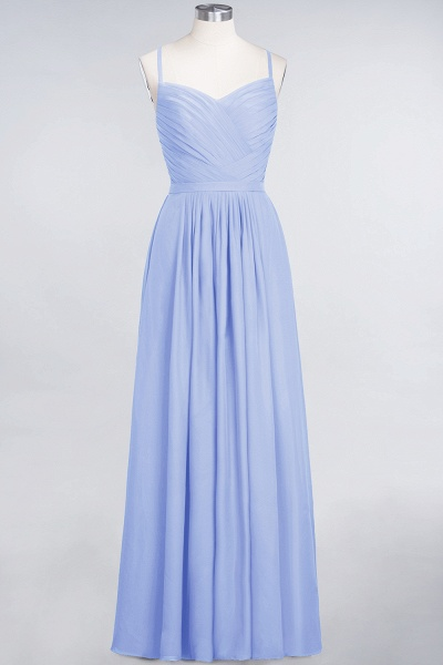 A-Line Chiffon Spaghetti-Straps Sweetheart Sleeveless Floor-Length Bridesmaid Dress with Ruffles_21