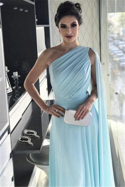 Fascinating One Shoulder A-line Prom Dress_3