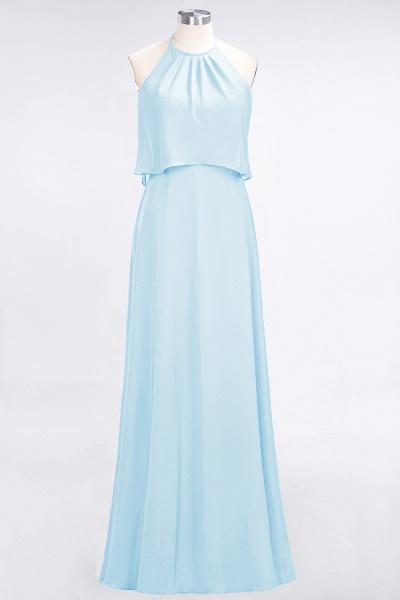 A-Line Chiffon Jewel Sleeveless Floor-Length Bridesmaid Dress_22
