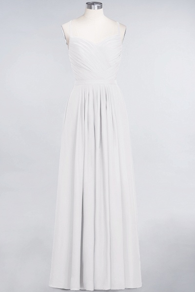 A-Line Chiffon Spaghetti-Straps Sweetheart Sleeveless Floor-Length Bridesmaid Dress with Ruffles_1