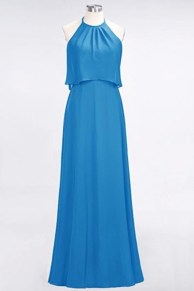 A-Line Chiffon Jewel Sleeveless Floor-Length Bridesmaid Dress_24