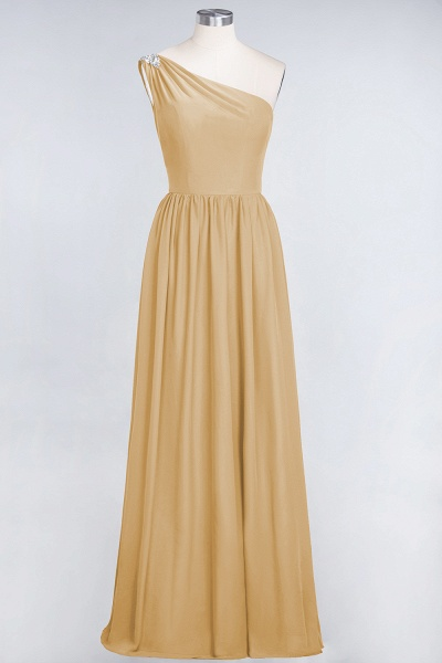 A-Line Chiffon One-Shoulder Sleeveless Ruffles Floor-Length Bridesmaid Dress with Beadings_13