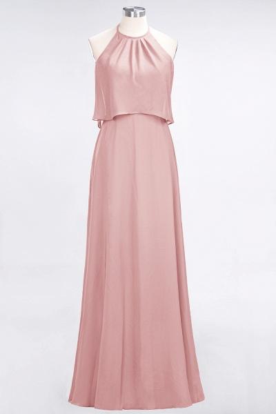 A-Line Chiffon Jewel Sleeveless Floor-Length Bridesmaid Dress_6