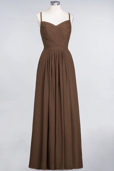 A-Line Chiffon Spaghetti-Straps Sweetheart Sleeveless Floor-Length Bridesmaid Dress with Ruffles_12