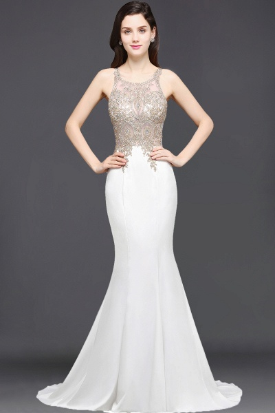 BM0127 Mermaid Sexy Mermaid Appliques Beads Bridesmaid Dresses