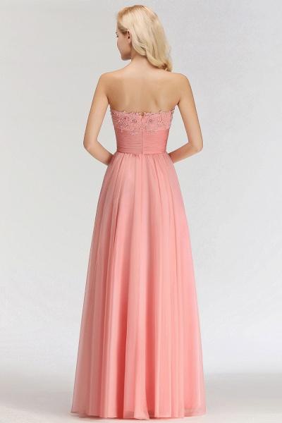 BM0083 Sexy Sweetheart A-Line Appliques Long Bridesmaid Dress_2