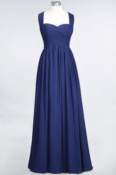 BM0420 Burgundy Simple Cap Sleeves Sweetheart Bridesmaid Dress_25