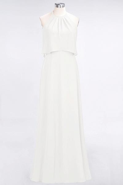 A-Line Chiffon Jewel Sleeveless Floor-Length Bridesmaid Dress_2