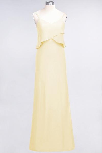 A-Line Chiffon Spaghetti-Straps V-Neck Sleeveless Floor-Length Bridesmaid Dress_17