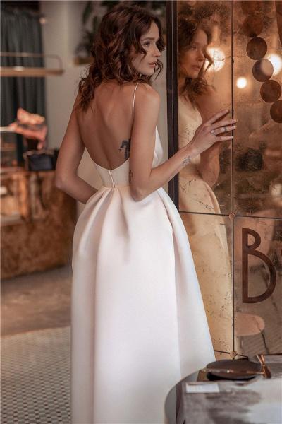 Fascinating Spaghetti Straps A-line Prom Dress_2
