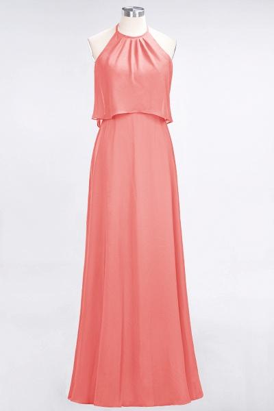 A-Line Chiffon Jewel Sleeveless Floor-Length Bridesmaid Dress_7