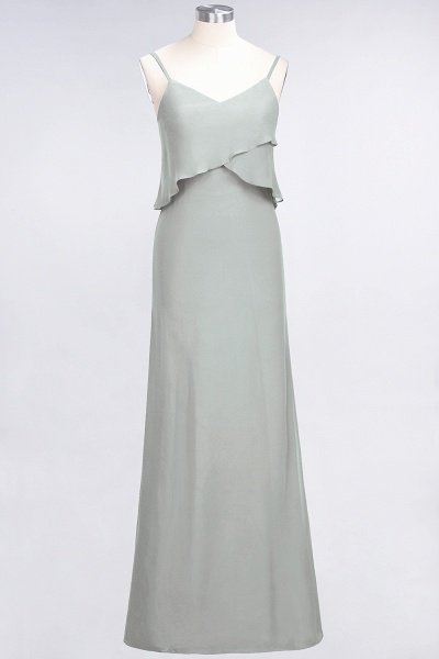 A-Line Chiffon Spaghetti-Straps V-Neck Sleeveless Floor-Length Bridesmaid Dress_29