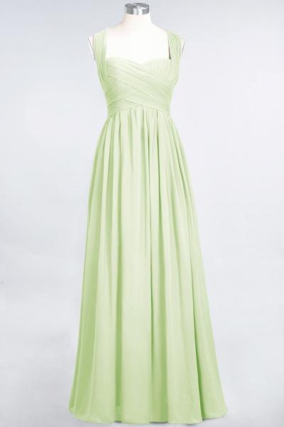 BM0420 Burgundy Simple Cap Sleeves Sweetheart Bridesmaid Dress_33