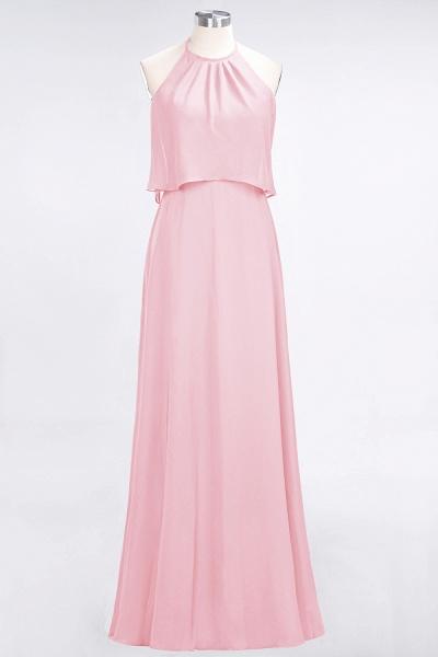 A-Line Chiffon Jewel Sleeveless Floor-Length Bridesmaid Dress_4