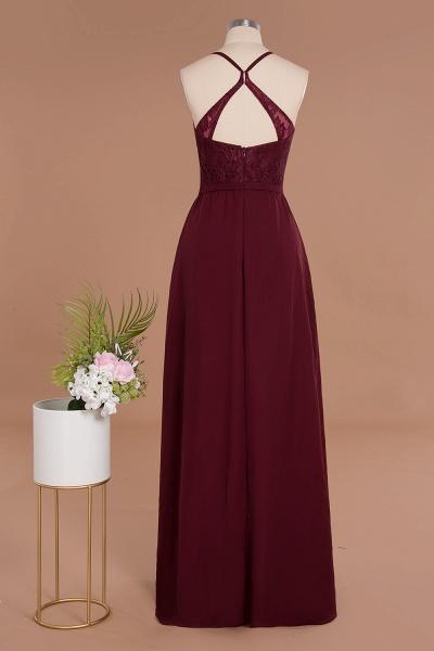 BM0753 Lace Spaghetti Straps A-Line Bridesmaid Dress_10