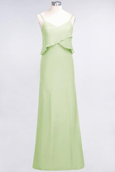 A-Line Chiffon Spaghetti-Straps V-Neck Sleeveless Floor-Length Bridesmaid Dress_33