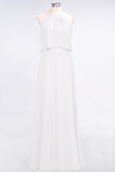 A-Line Chiffon Jewel Sleeveless Floor-Length Bridesmaid Dress_1