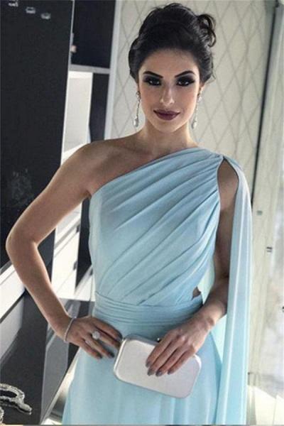 Fascinating One Shoulder A-line Prom Dress_4