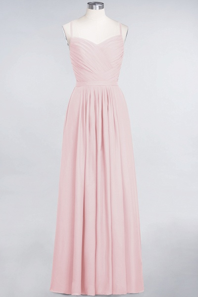 A-Line Chiffon Spaghetti-Straps Sweetheart Sleeveless Floor-Length Bridesmaid Dress with Ruffles_3