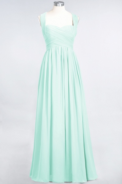 BM0420 Burgundy Simple Cap Sleeves Sweetheart Bridesmaid Dress_34