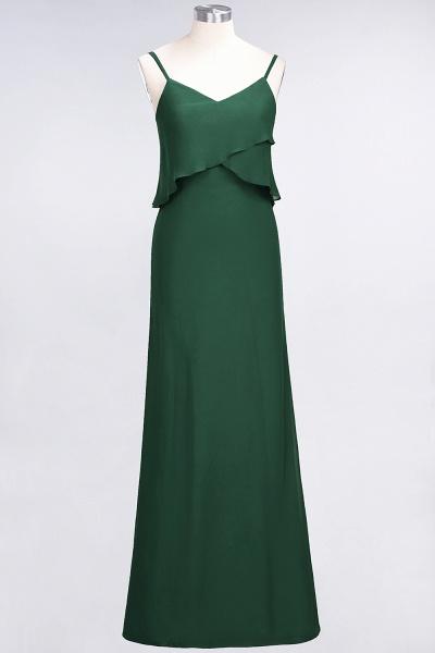 A-Line Chiffon Spaghetti-Straps V-Neck Sleeveless Floor-Length Bridesmaid Dress_30