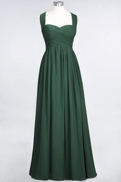 BM0420 Burgundy Simple Cap Sleeves Sweetheart Bridesmaid Dress_30