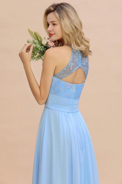 BM0776 Elegant Appliques Jewel Sleeveless Bridesmaid Dress Online_8
