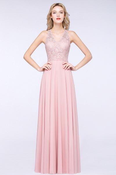 BM0795 Trendy Illusion Lace Sleeveless Bridesmaid Dress_3