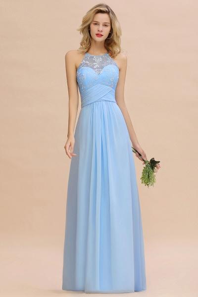 BM0776 Elegant Appliques Jewel Sleeveless Bridesmaid Dress Online_6