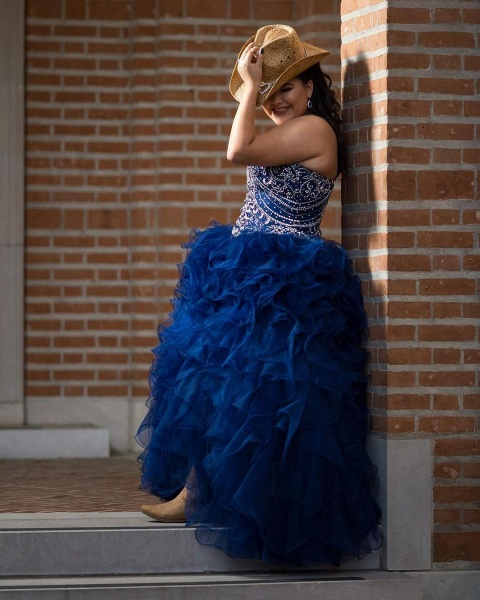 Amazing Sweetheart Tulle Ball Gown Quinceanera Dress_2