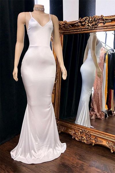 Eye-catching V-neck Mermaid Prom Dress_2