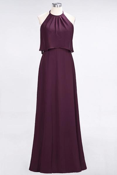 A-Line Chiffon Jewel Sleeveless Floor-Length Bridesmaid Dress_19