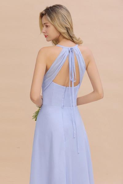 BM0779 Stylish Chiffon Spaghetti Straps Sleeveless Long Bridesmaid Dress_56
