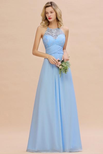 BM0776 Elegant Appliques Jewel Sleeveless Bridesmaid Dress Online_7