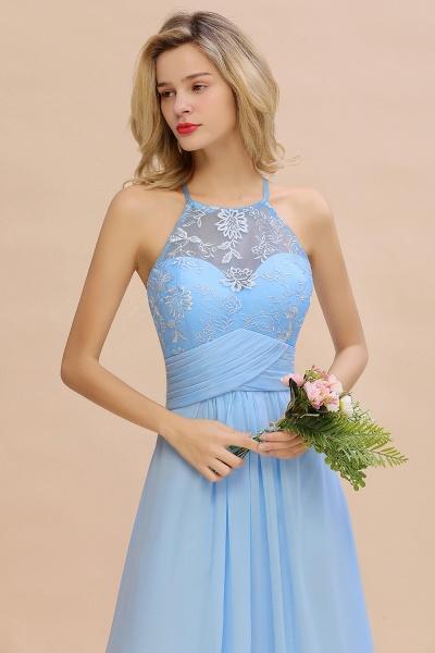 BM0776 Elegant Appliques Jewel Sleeveless Bridesmaid Dress Online_9