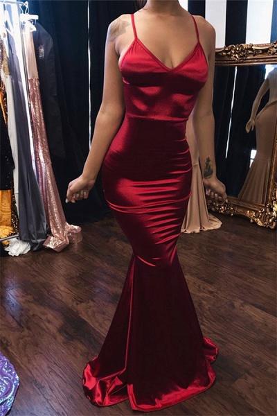 Eye-catching V-neck Mermaid Prom Dress_1