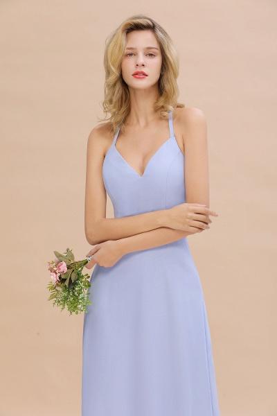 BM0779 Stylish Chiffon Spaghetti Straps Sleeveless Long Bridesmaid Dress_55
