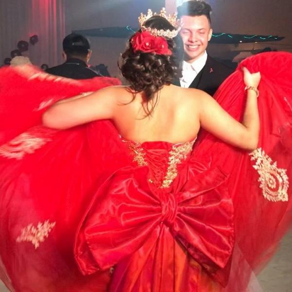 Sleek Sweetheart Tulle Ball Gown Quinceanera Dress_2