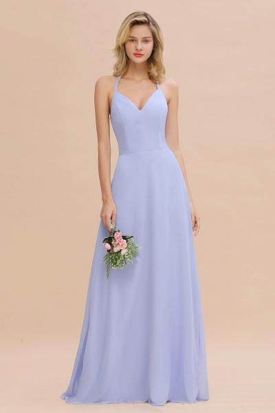 BM0779 Stylish Chiffon Spaghetti Straps Sleeveless Long Bridesmaid Dress_51