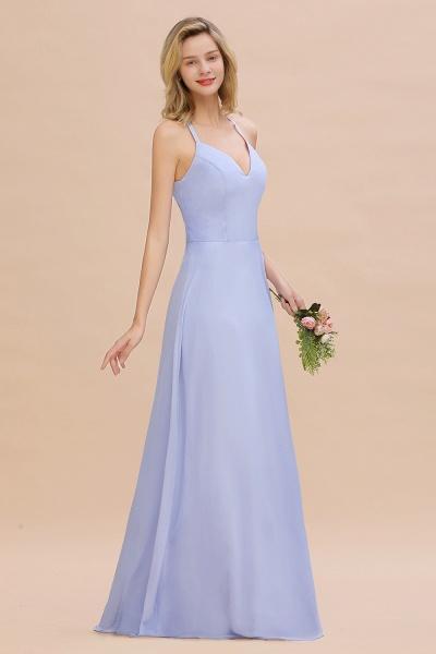 BM0779 Stylish Chiffon Spaghetti Straps Sleeveless Long Bridesmaid Dress_54