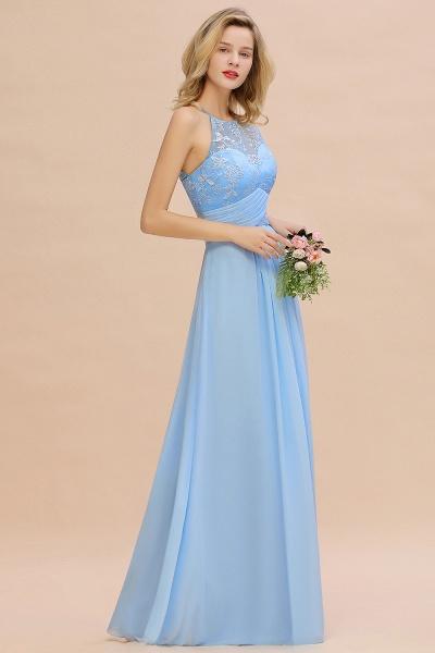 BM0776 Elegant Appliques Jewel Sleeveless Bridesmaid Dress Online_4