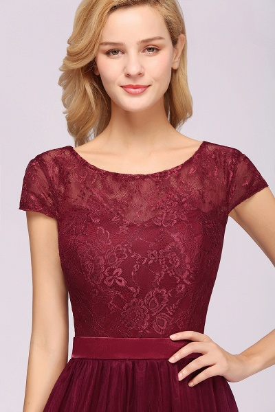 A-Line Chiffon Jewel Sleeveless Floor-Length Bridesmaid Dresses with Ruffles_7