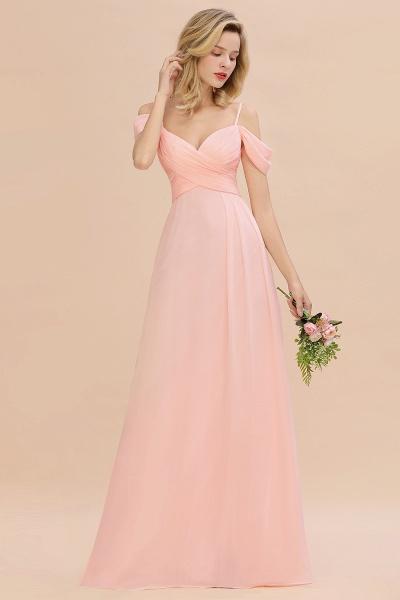 BM0786 Spaghetti Straps Sweetheart Ruffles Bridesmaid Dress_5