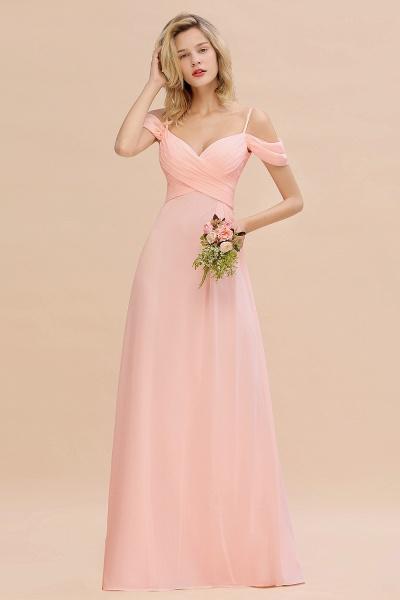 BM0786 Spaghetti Straps Sweetheart Ruffles Bridesmaid Dress_2