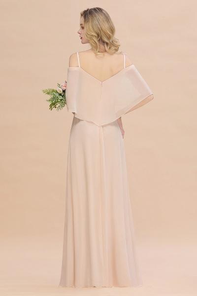 BM0759 Spaghetti Straps Side Split Bridesmaid Dress_3