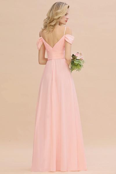 BM0786 Spaghetti Straps Sweetheart Ruffles Bridesmaid Dress_3