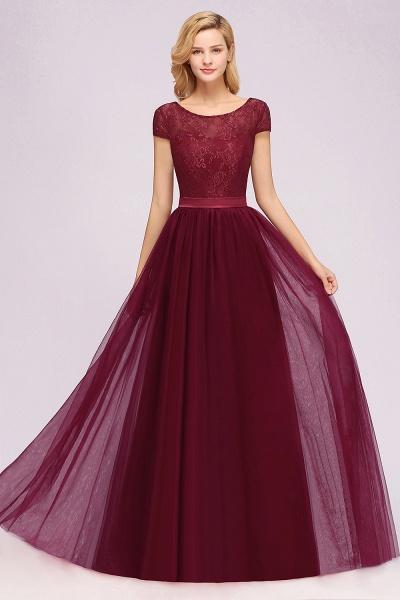 A-Line Chiffon Jewel Sleeveless Floor-Length Bridesmaid Dresses with Ruffles_6