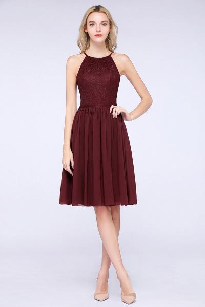 A-line Chiffon Lace Jewel Sleeveless Knee-Length Bridesmaid Dresses with Ruffles_51