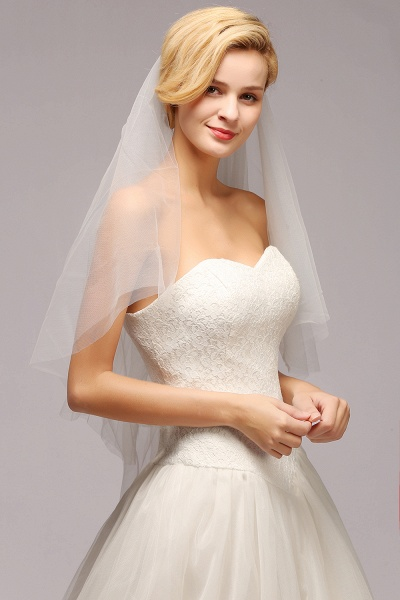 Excellent Lace Tulle Cathedral Wedding Veils_6